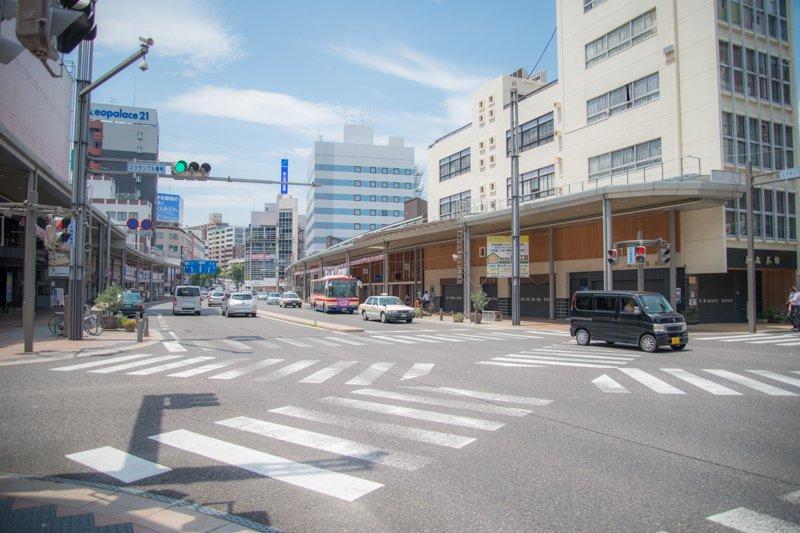 郡山駅前大通商店街