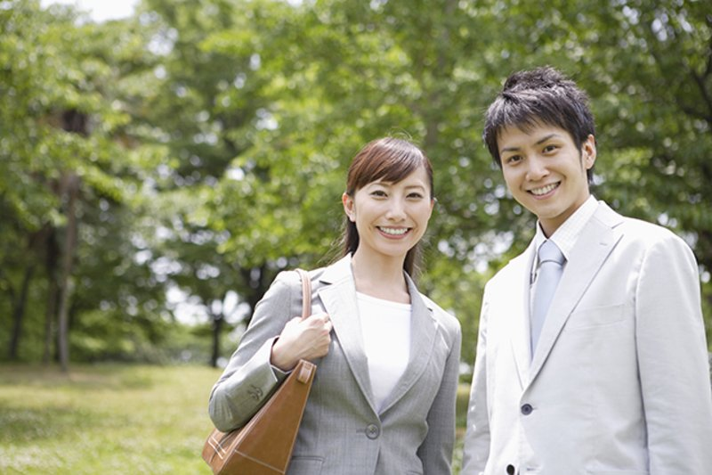 便利なアクセスを利用して、充実した平日を過ごす夫婦の1日
